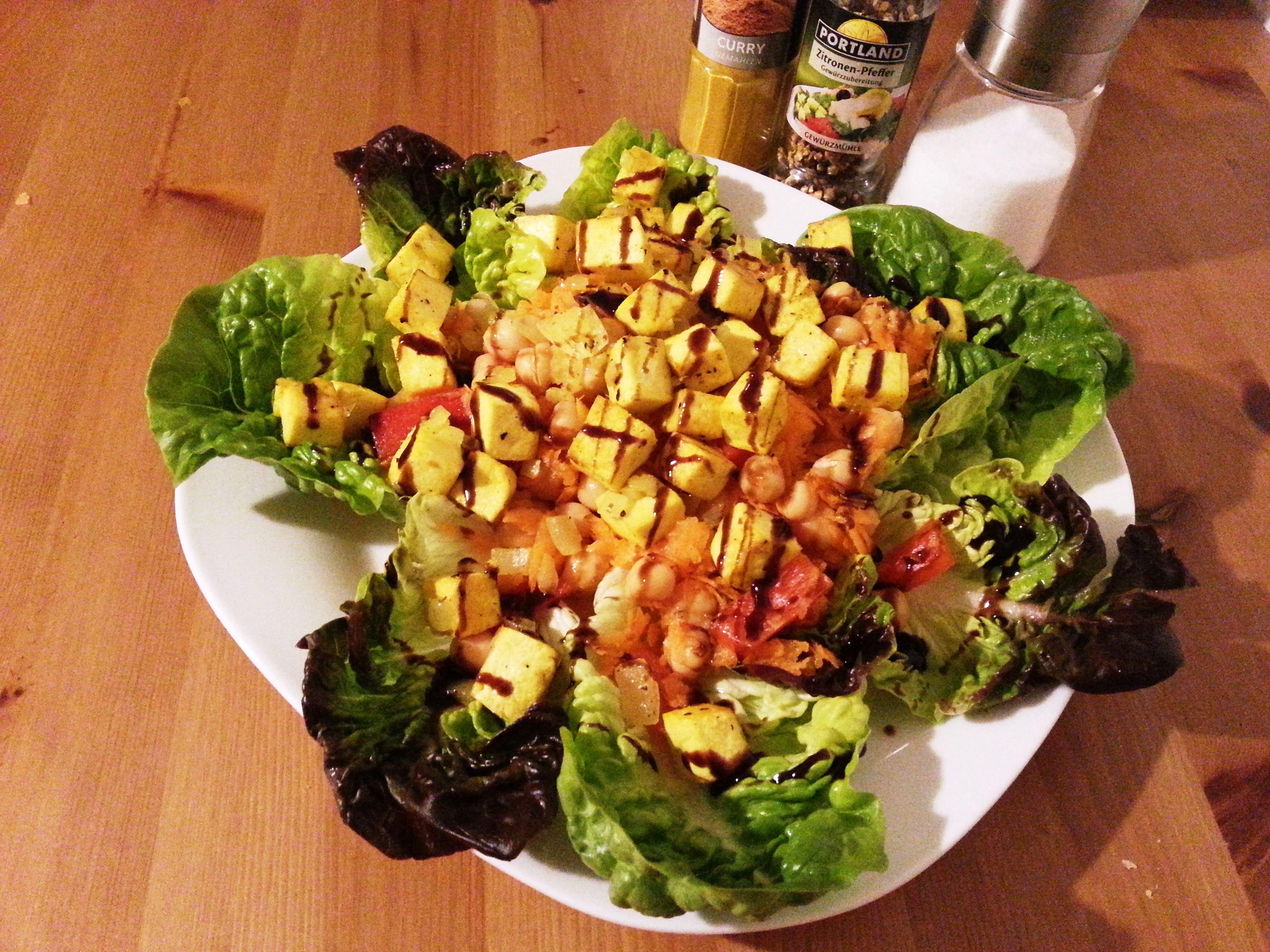 Bezaubernd Tofu Nährwerte Beste Wahl Fitnessrezept Kichererbsen Salat Mit - Nährwerte: Kalorien