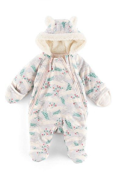 f9ad1b5b8 Free shipping and returns on Mini Boden Hooded Front Zip Snowsuit ...