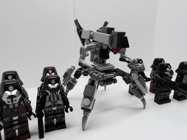 Sith Forces With Sith War Droid Mk1 Tor Flickr Lego Starwars