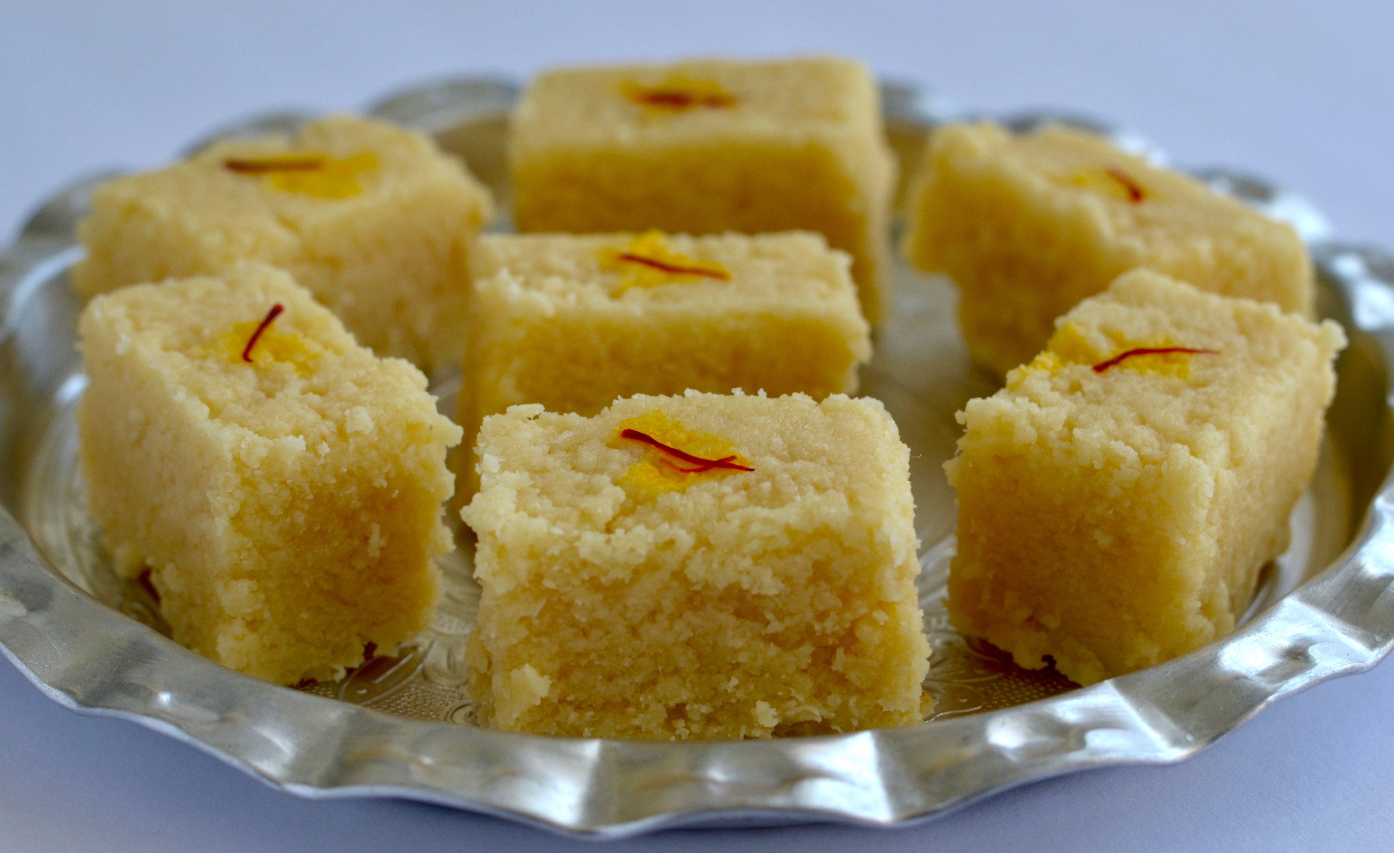 Homemade Milk Cake Kalakand Recipe Milk Cake Recipe Indian Sweet Dishes Recipes