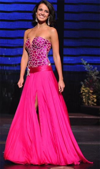 Miss Florida Teen USA 2012 Sydney Martinez Evening Gown: HIT or MISS?