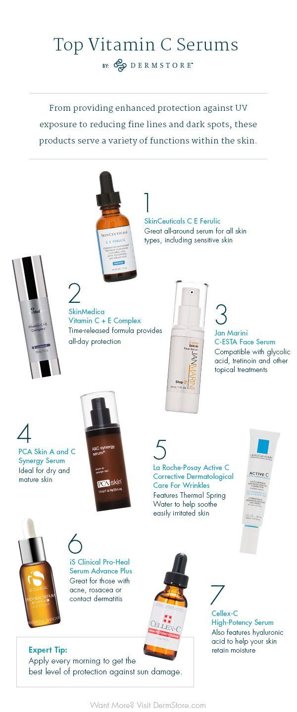 13 Best Vitamin C Serums For Brighter Skin Best Vitamin C Serum Aging Skin Care Healthy Skin Cream