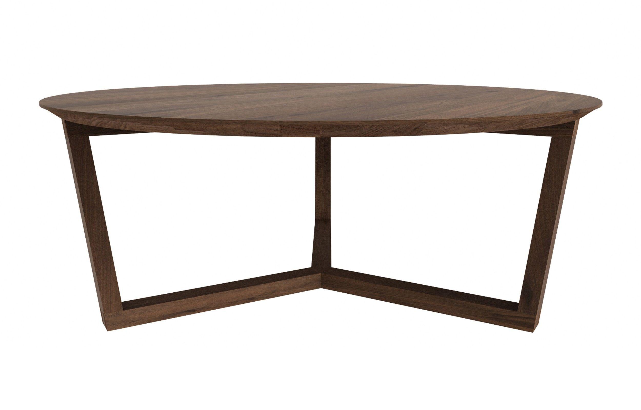 Tripod walnut coffee table nightstands u side tables pinterest