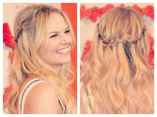Jennifer morrison waterfall braid hair pinterest for Jennifer morrison tattoo