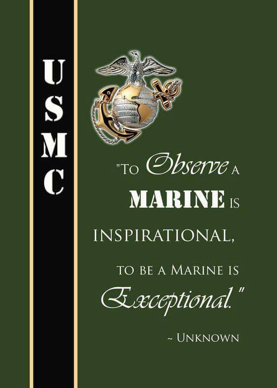 Marine Corps Quotes Fascinating Pinlisa Jones On Usmc  Pinterest  Usmc Marines And Marine Corps Inspiration Design