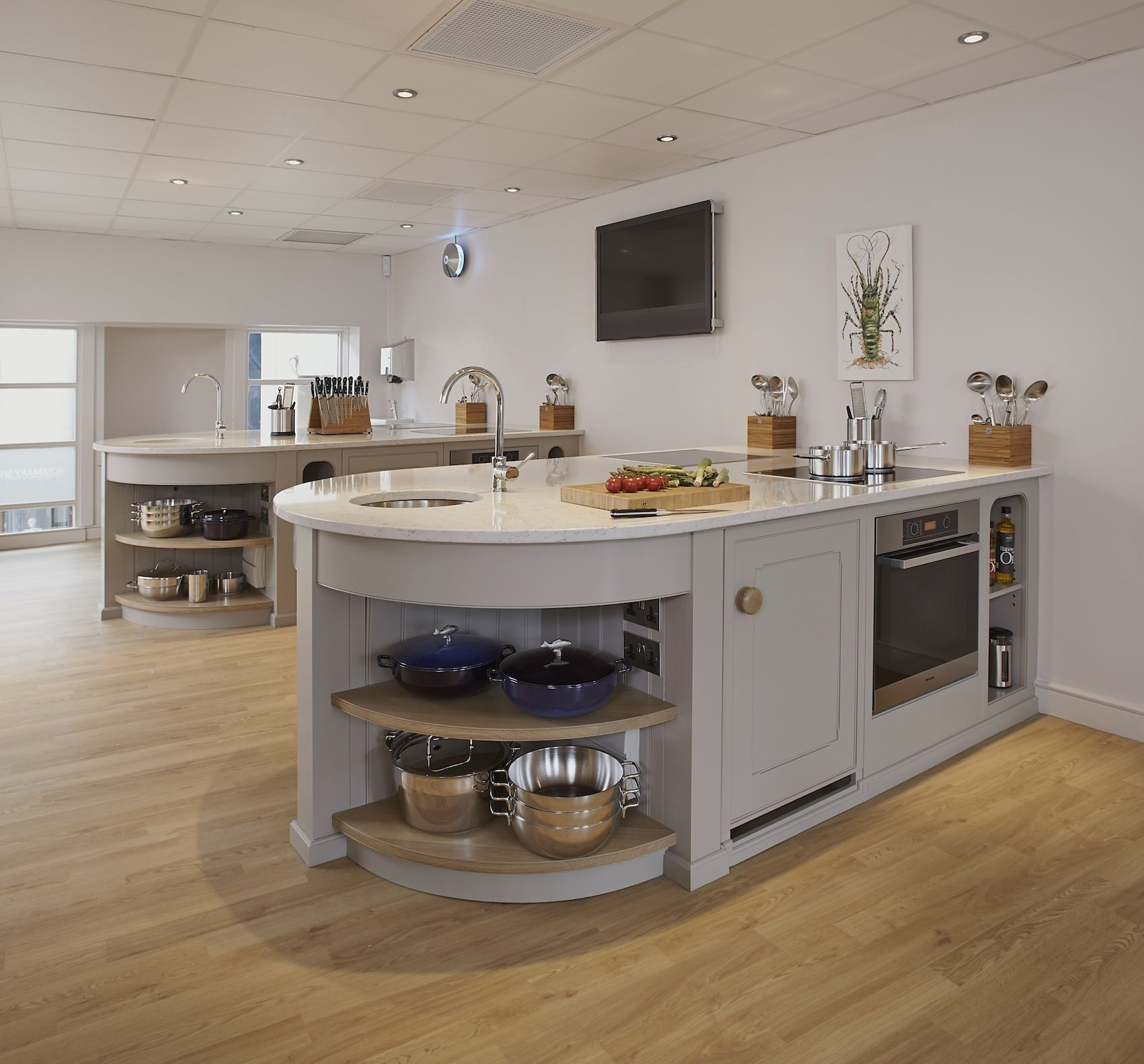 Kitchen Design Kent: Rosemary Shrager Cookery School In Kent