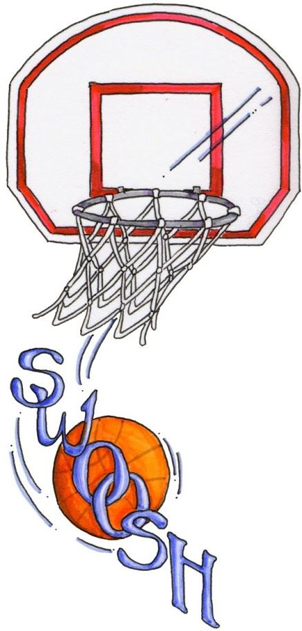 Basketball Swoosh Clipart Patterns Colored Paintpatterns Designs