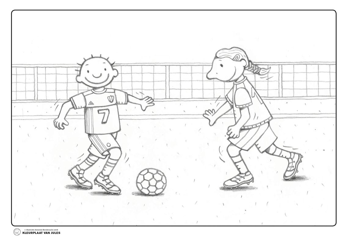 Quatang Gallery- Voetbal Jules Voetbal Knutselen Voetbal Voetballen