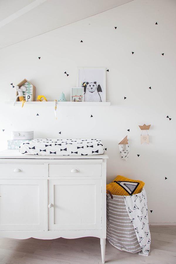 dormitorio infantil blanco y gris 5 | Kids | Pinterest | Dormitorios ...