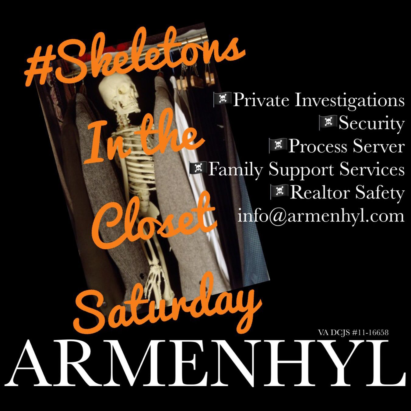 Skeletonsintheclosetsaturday Armenhyl Privateinvestigator