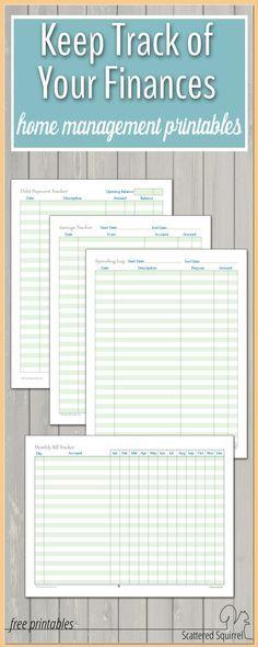 printable home budget worksheets