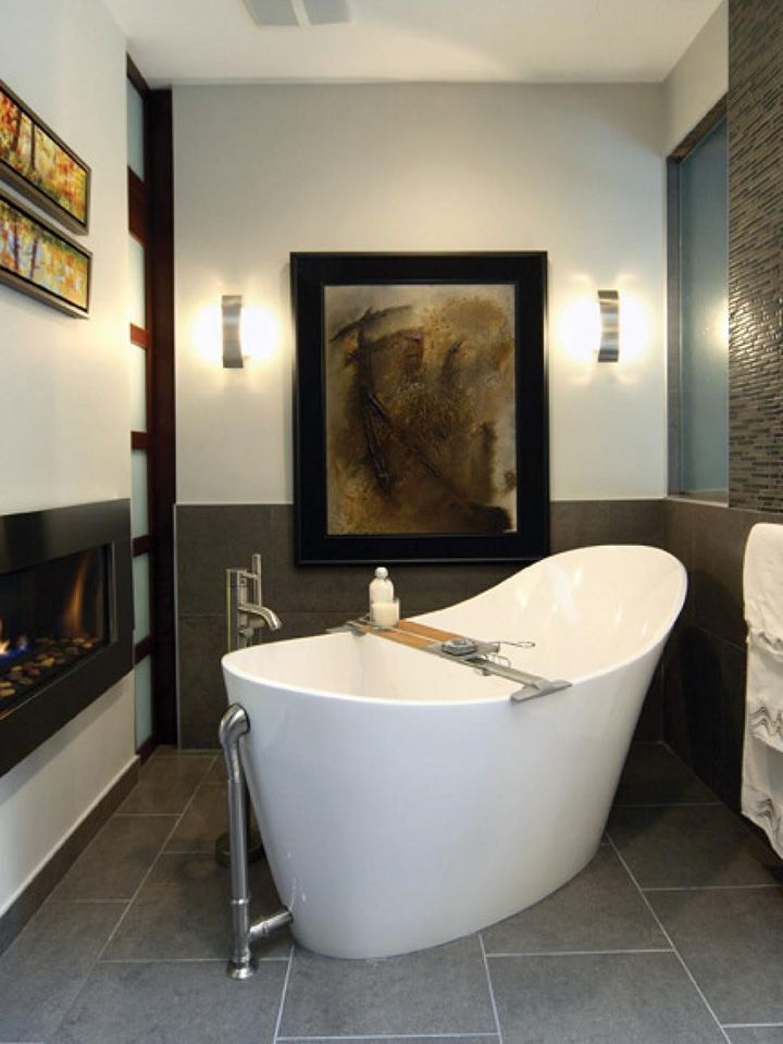 BATHROOM REMODELING TRENDS FOR 2016 | TINY SPA TRENDS |A soaking tub ...