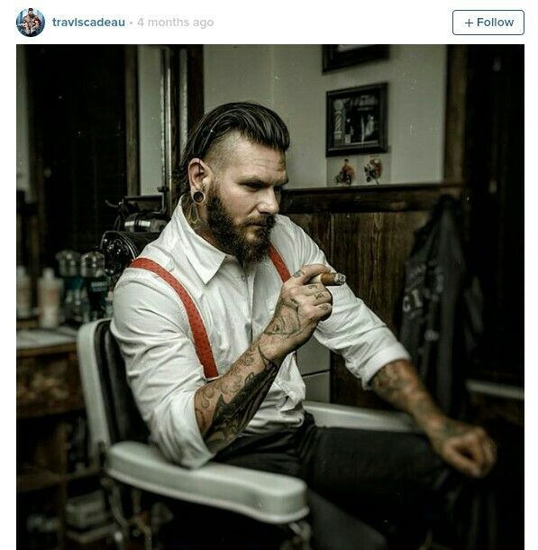 686 Best Images About Hipster Tattoos On Pinterest: 理髪店, ひげ, インスピレーション