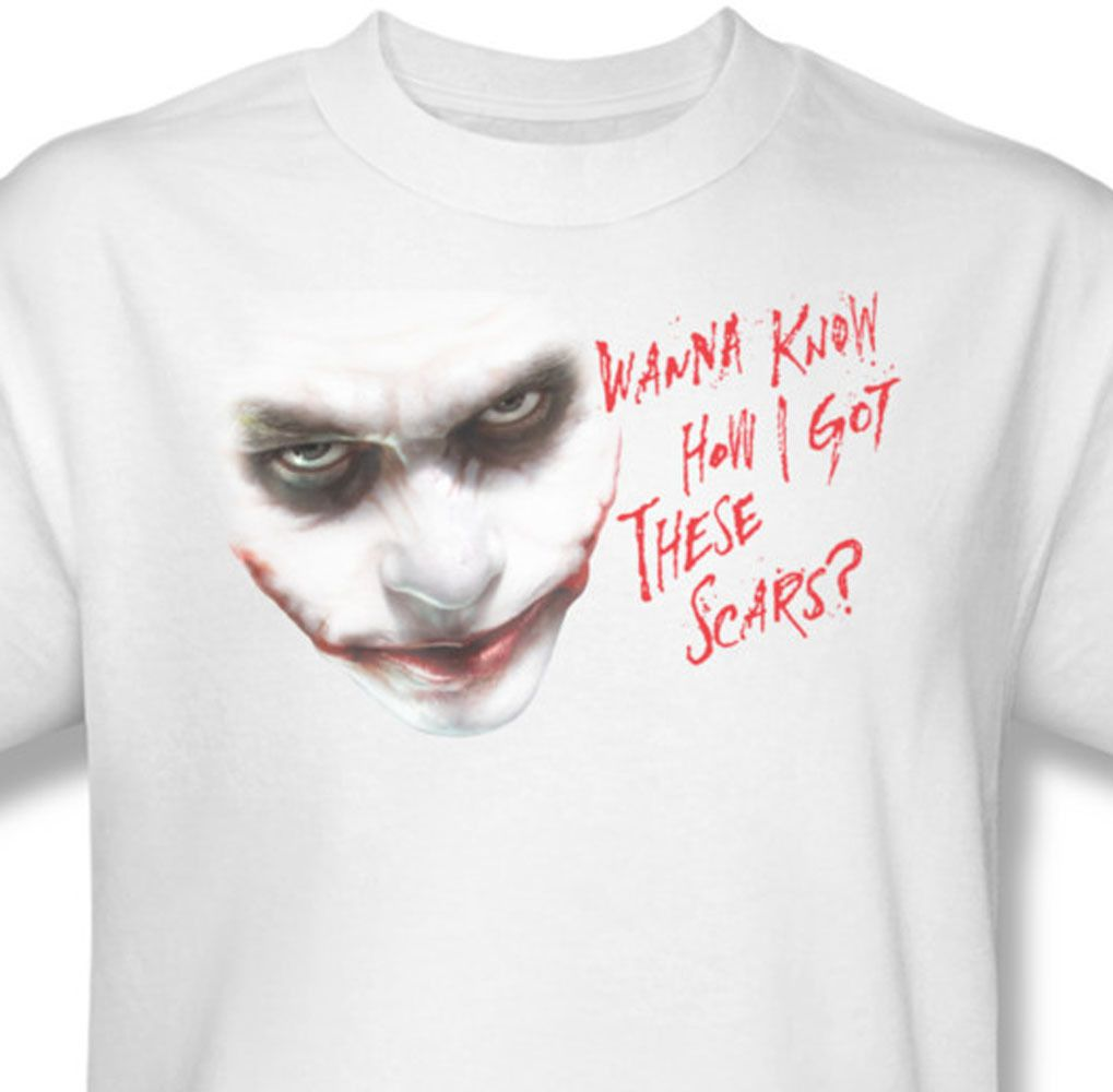 b0b4f73b7 The Joker T-SHIRT Comic Book DC Bat-Man Dark Knight Graphic T'shirt BM1684  - T-Shirts, Tank Tops