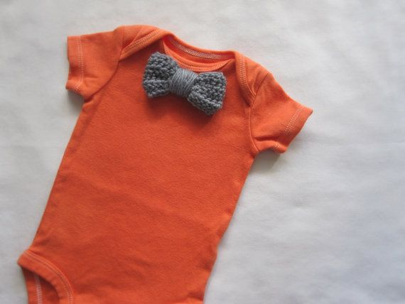 Baby bow tie onsie