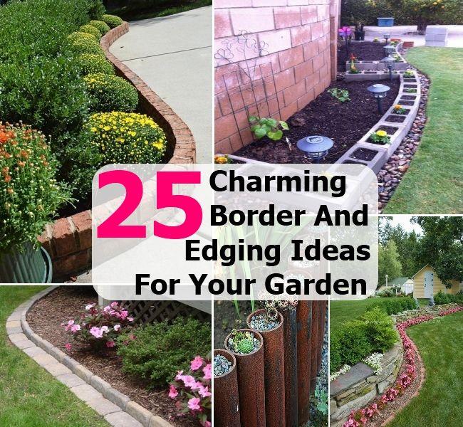 Flower Bed Borders Ideas | Flower Bed Borders Ideas ...