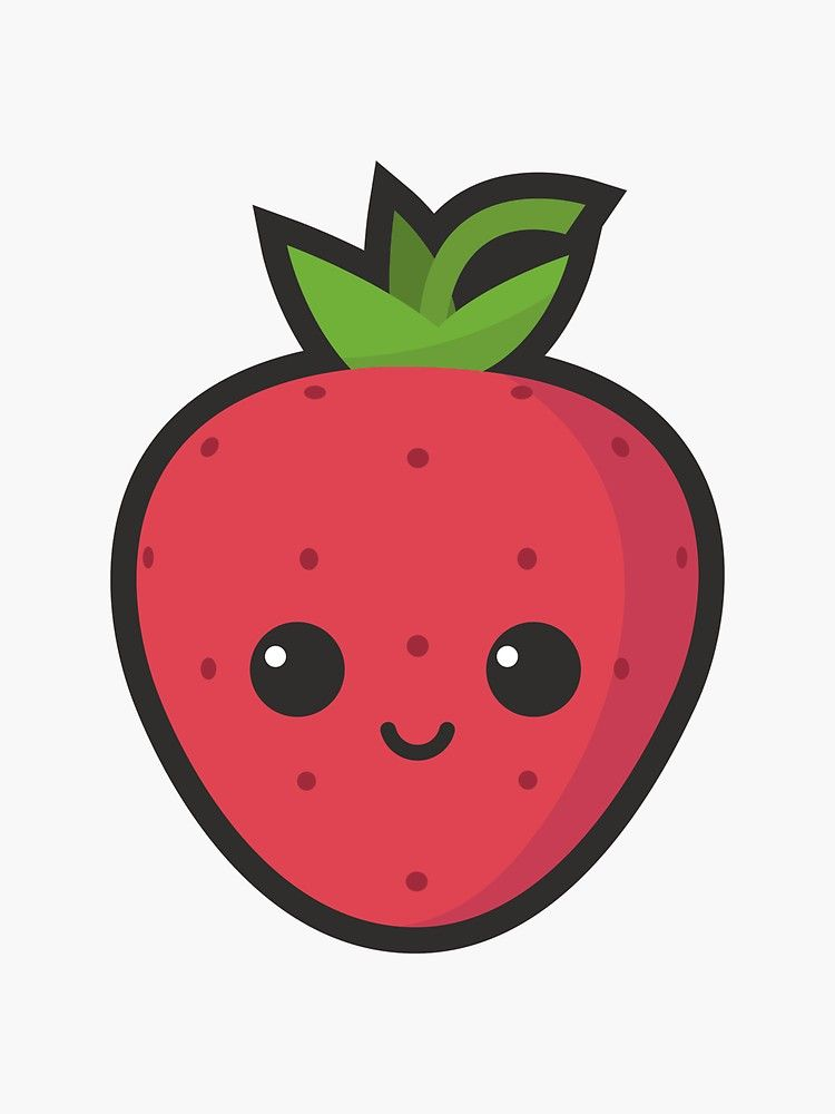 Cute Strawberry Drawing at GetDrawings   Free download