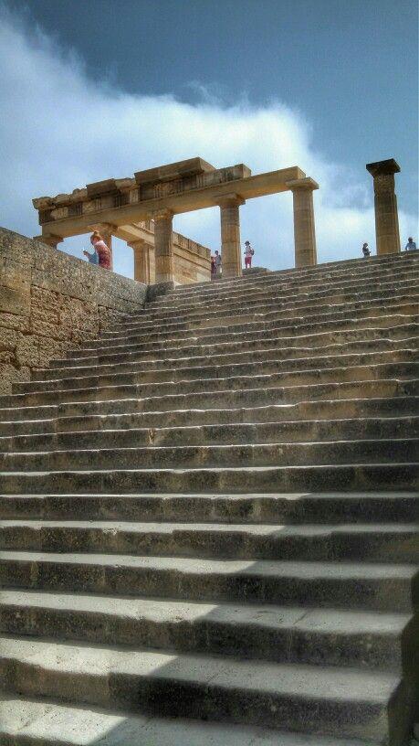 Acropolis Gateway, Lindos, Rhodes