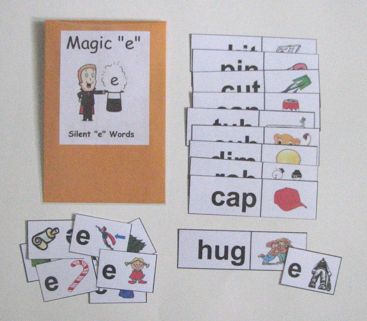 Silent E Words Help Students Practice Long Vowel Skills