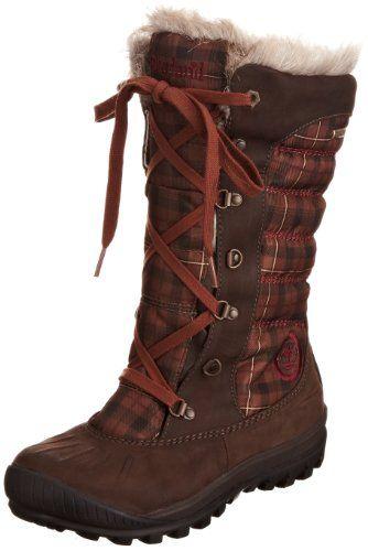 Timberland Women's Mount Holly Faux Fur Knee High Boot,Dark