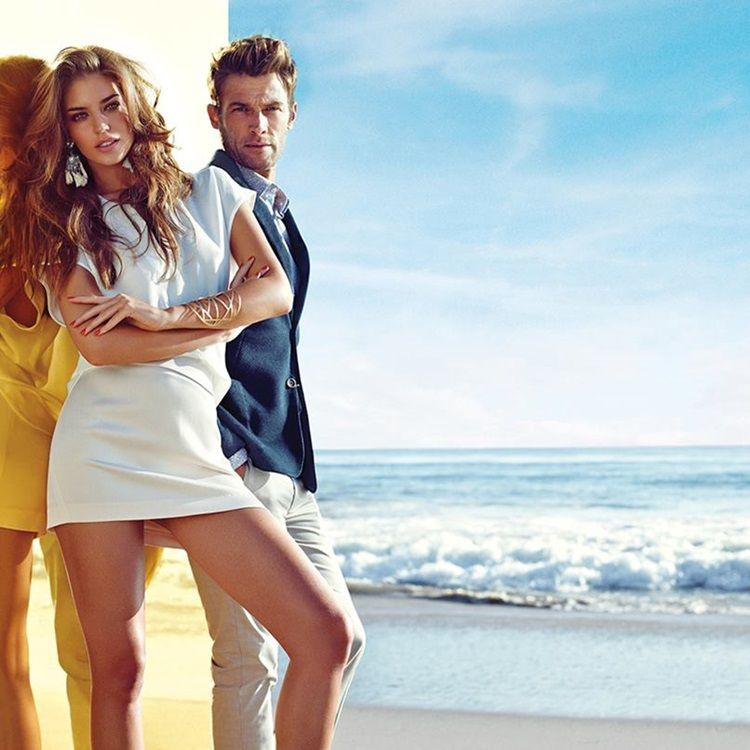 Marciano Spring Summer 2014 Campaign   FashionMention