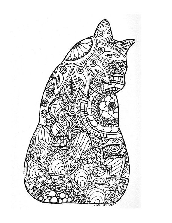 3 adult colouring pages original hand drawn by littleshoptreasures