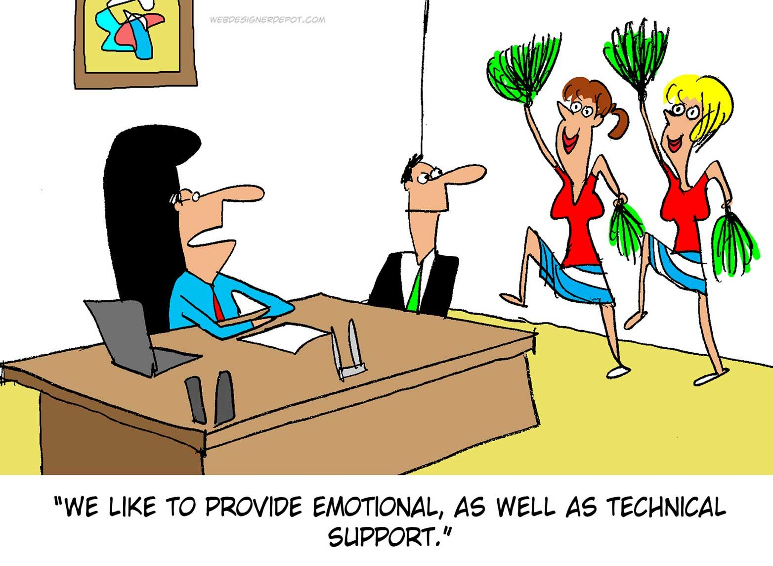 Tips On How To Communicate With Tech Support - AllCore Blog  |Technical Support Jokes