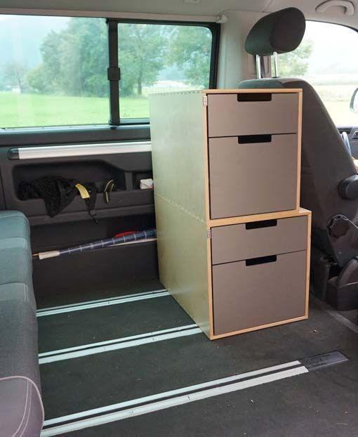 vw t5 multivan gx tower f r mehr stauraum m glichkeiten im innenraum bus pinterest. Black Bedroom Furniture Sets. Home Design Ideas