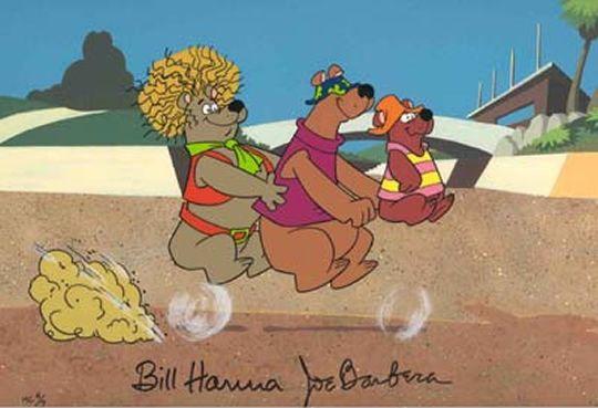Help! It's the Hair Bear Bunch!