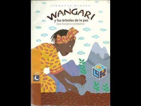 """Miércoles Mudo: """"Wangari y los árboles de la Paz"""" Jeanette Winter – ILYBOOK"""