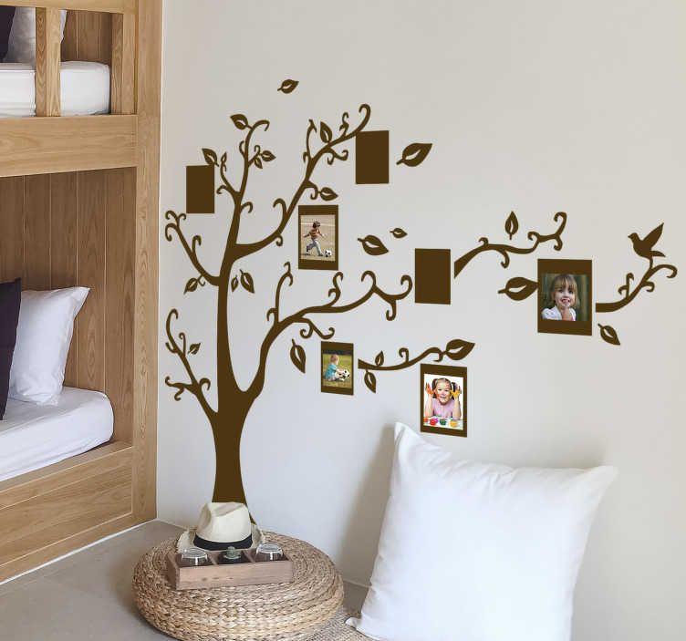 Vinilo decorativo silueta árbol fotos | Arbol fotos ...