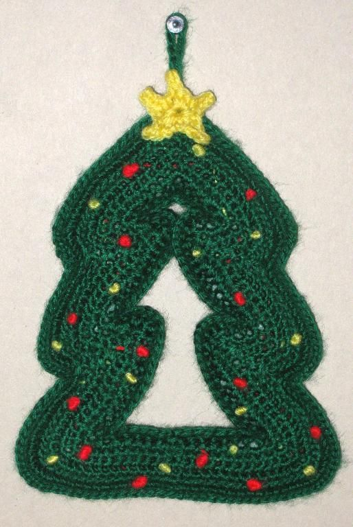 Christmas Tree Mobile pattern on Craftsy.com