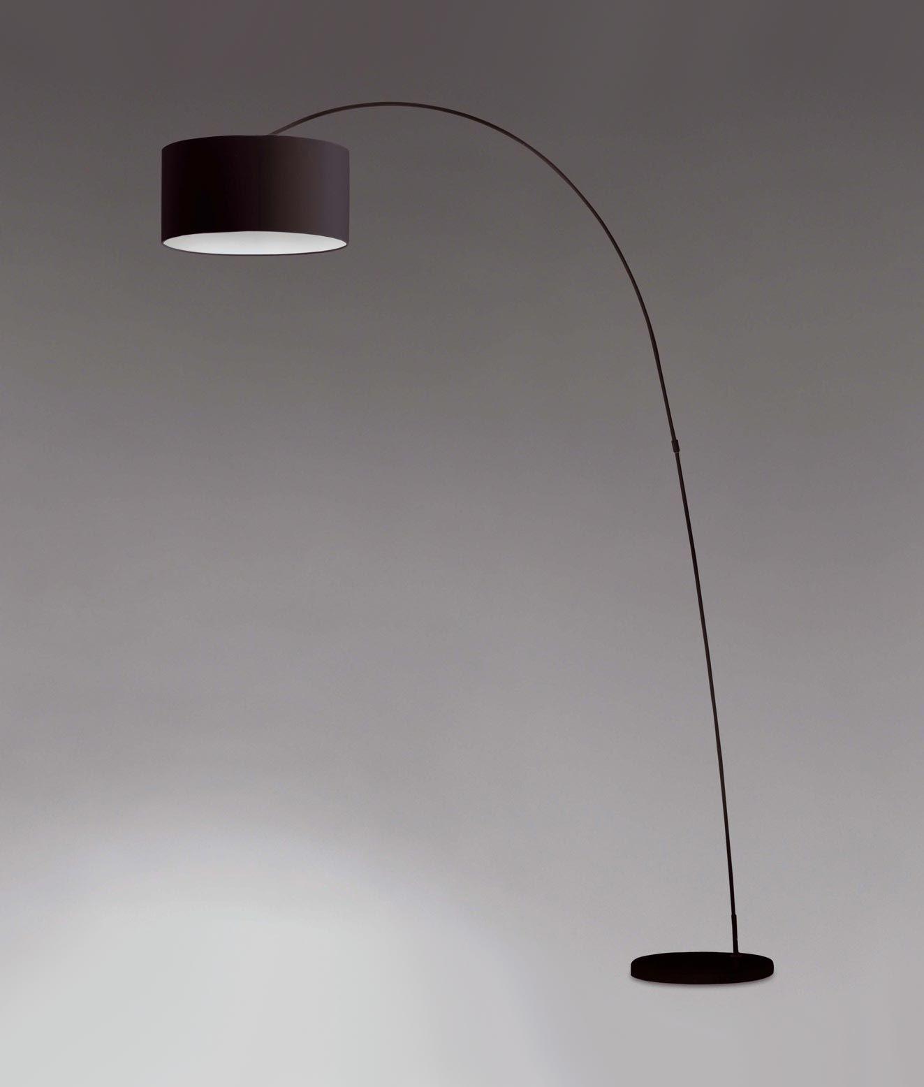 L mpara de pie negra papua iluminaci n interior ideas - Iluminacion de pie ...