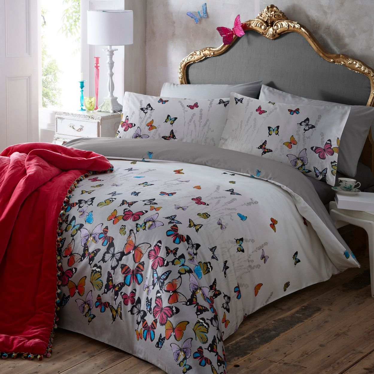 Butterfly Home By Matthew Williamson Light Grey
