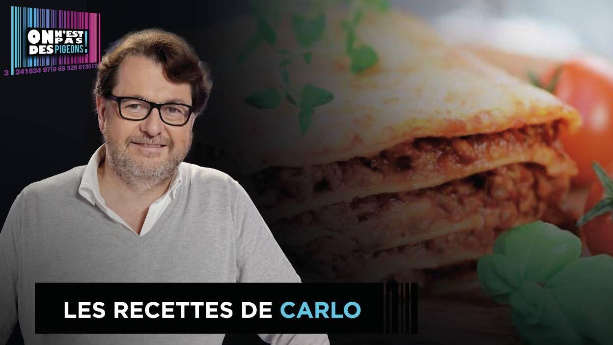 La vraie lasagne de Carlo de Pascale