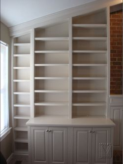 Built Ins Fireplace Bookcase Floor To Ceiling Bookshelves Cathedral Ceiling Living Room