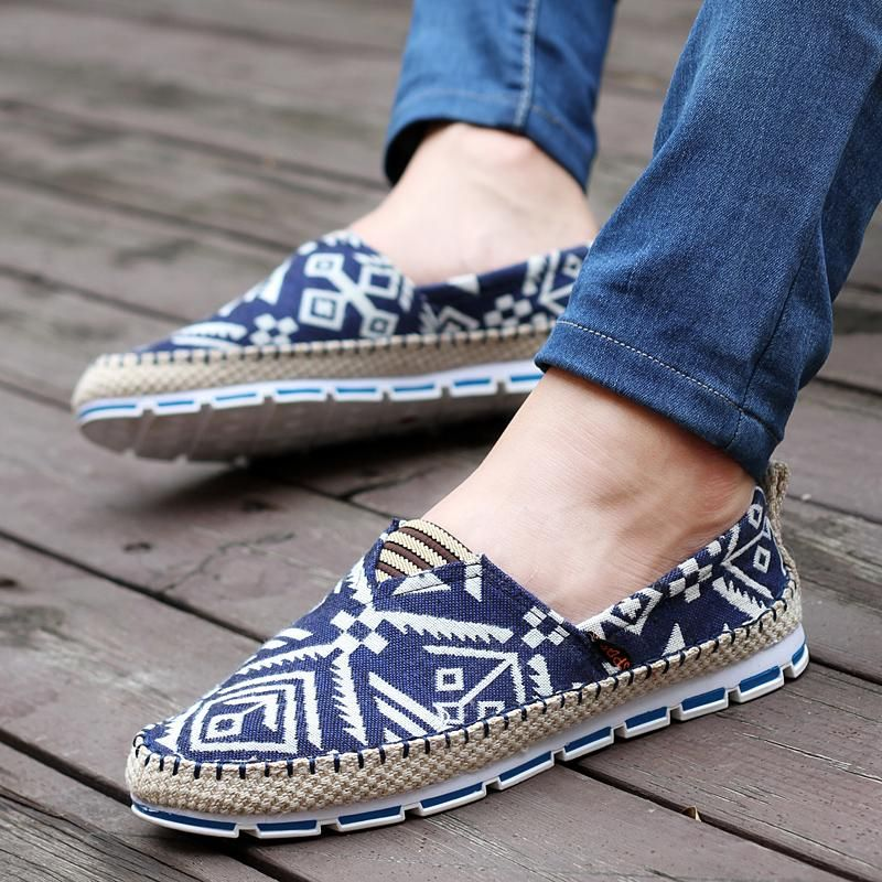 Mocassins haute pour Chaussures respirant mode la toile Casual de hommes qualité les de wO7FHq