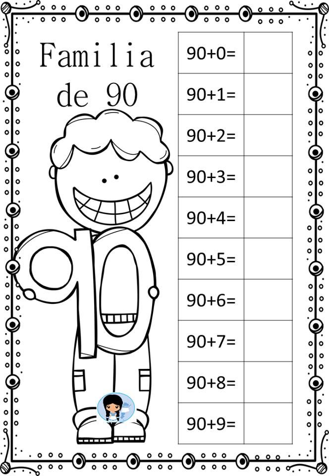 Familia decenas | Castellano 1º y 2º primaria | Pinterest | Schule ...