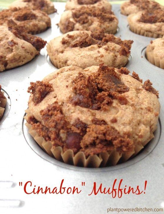 Cinnabon Muffins Recipe Vegan Desserts Dessert Recipes Vegan