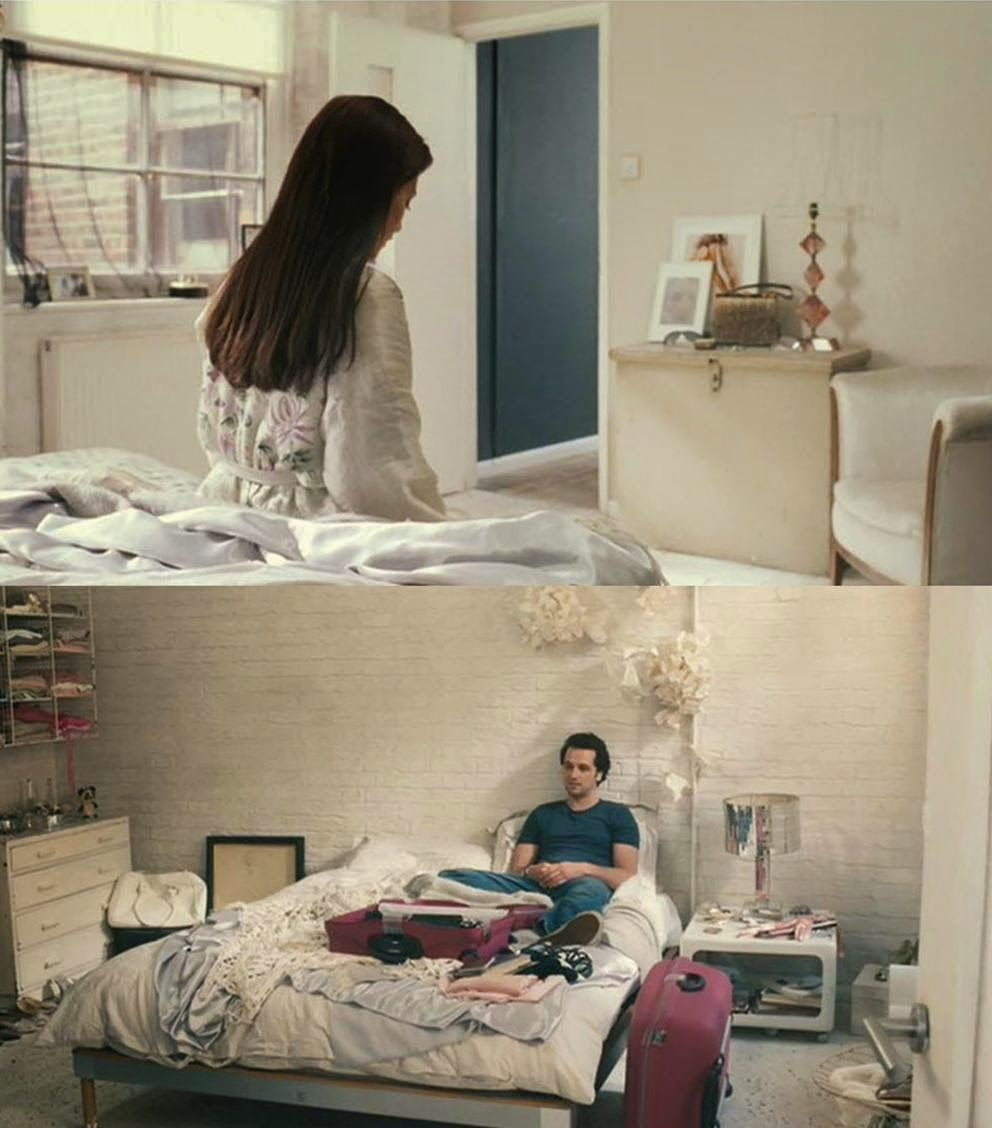 Film Interiors Love And Other Disasters Interior Room Furniture