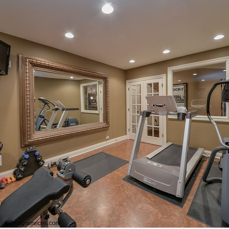 Home Gym Design Ideas Basement: Would This Awesome Basement Gym Get You Motivated To Work