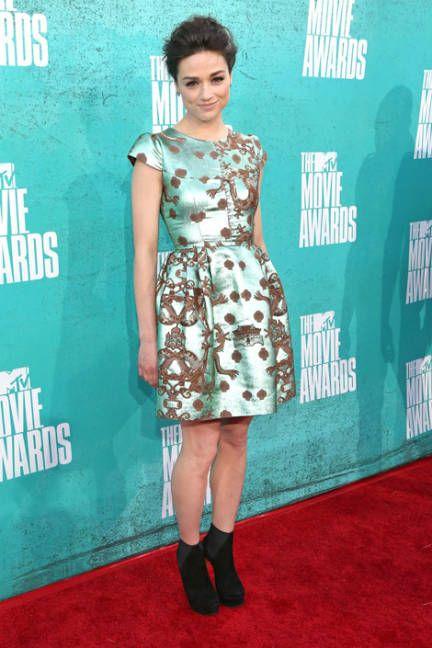 The 2012 MTV Movie Awards Red Carpet