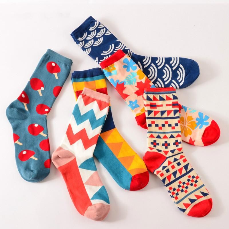 American Custom Socks Creative Socks for Men//Women Casual Cartoon Socks