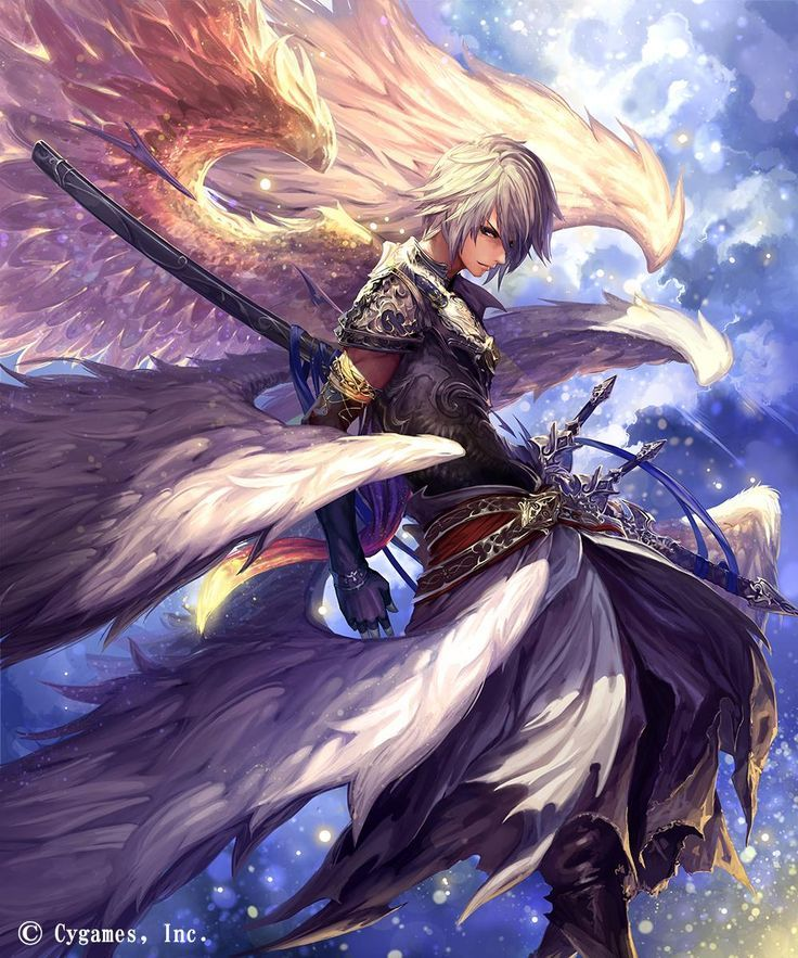 Male Angel Anime Fantasy Anime Anime Artwork