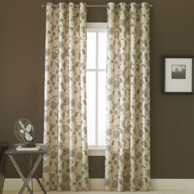 Linden StreetTM Odette Grommet Top Curtain Panel Found At JCPenney