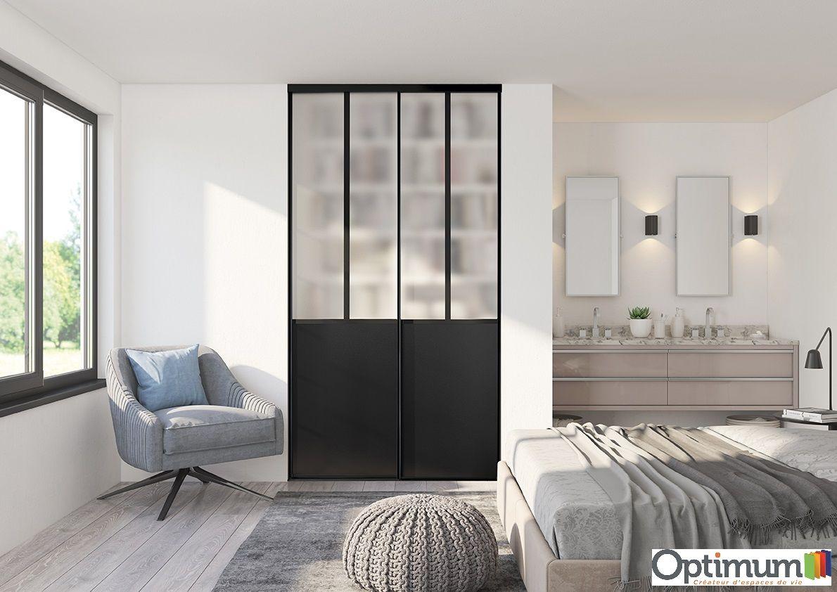 Portes De Placards Atelier Noir Dim 2500 1200mm En 2020 Placard Atelier Porte Placard Et Placard