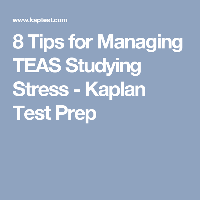 image about Printable Teas Practice Test called 8 Recommendations for Operating TEAS Reading Worry - Kaplan Try out Prep