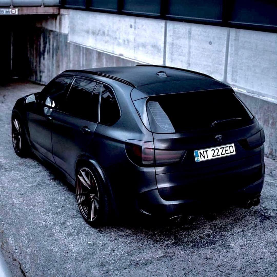 Bmw F85 X5m Matte Black Bmw X5 M Bmw Bmw X5
