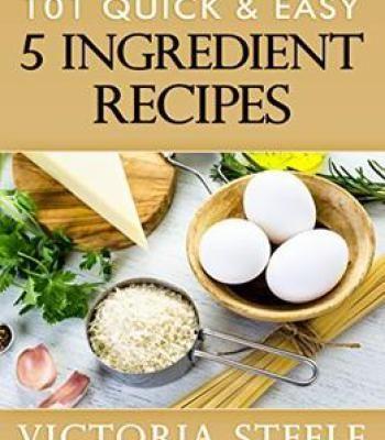 101 quick easy 5 ingredient recipes pdf cookbooks pinterest 101 quick easy 5 ingredient recipes pdf forumfinder Images