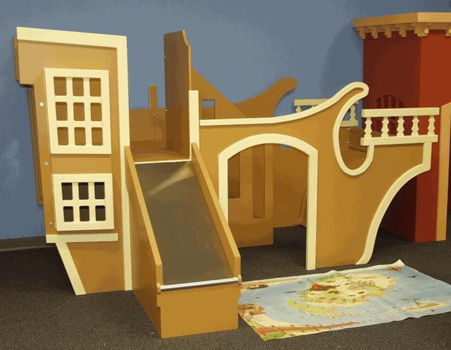 Pirate Ship Bunkbeds For Two Little Boys. My Brother Saw This And Had A Fit